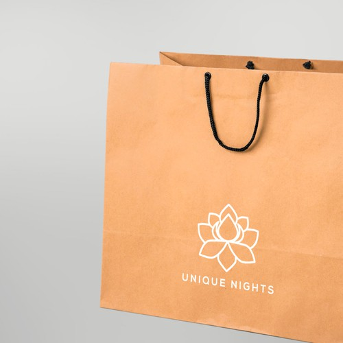 Lotus brand with the title 'Logo design for flower, gift, wedding shop'