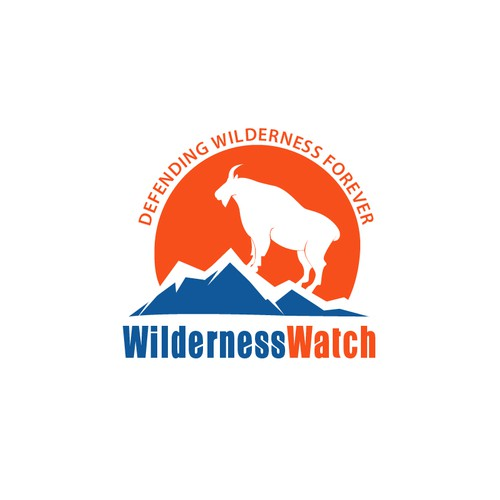 Wilderness logo with the title 'Logo for Wilderness Watch'