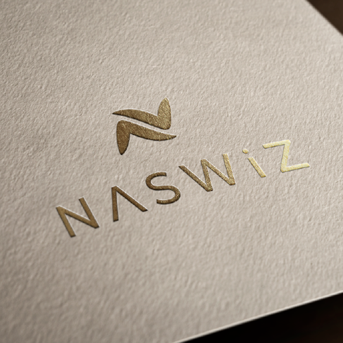Shoe logo with the title 'Naswiz'