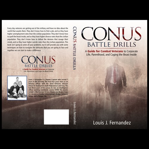 War design with the title 'CONUS Battle Drills'