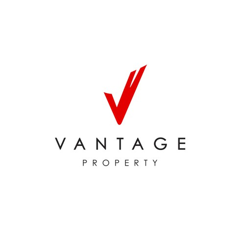 V design with the title 'Logo for Property'