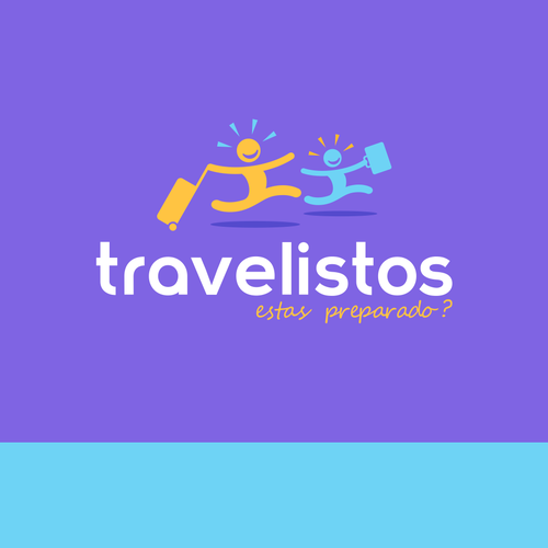 Airport logo with the title 'Travelistos'