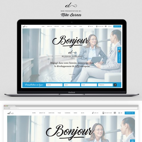 Accounting design with the title 'Chic, classy design for Accountant Firm'