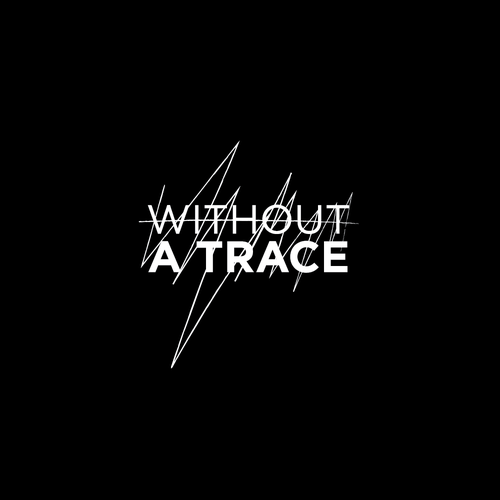 Newspaper logo with the title 'without a trace'