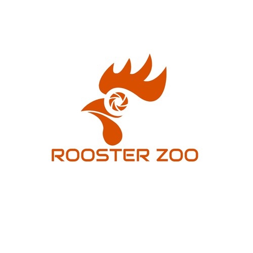 Shutter design with the title 'Rooster Zoo'