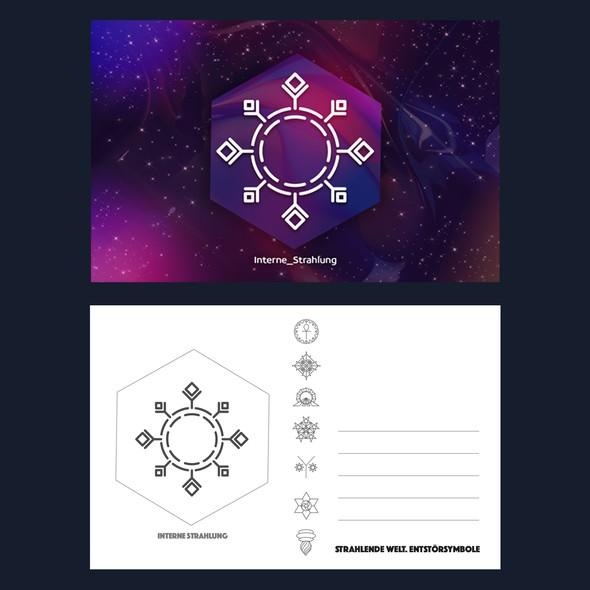 Symbol design with the title 'Cosmic Symbols'