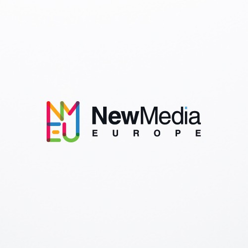 European design with the title 'Branded New Media Conference'