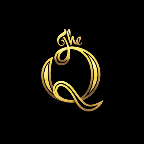Q design with the title 'The Q'