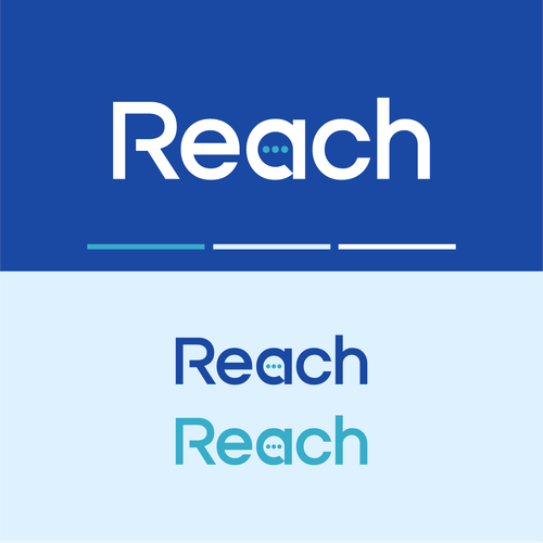 Speech therapy logo with the title 'Reach'