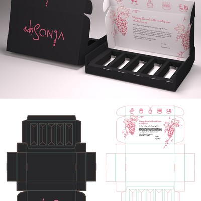 Packaging for Vinosips