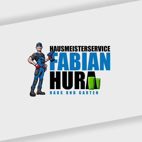 Handyman design with the title 'Handyman Logo'