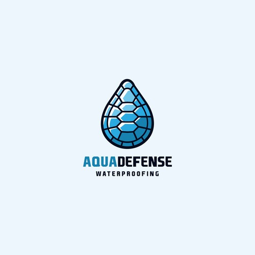 Shell design with the title 'concept for Aqua Defense'