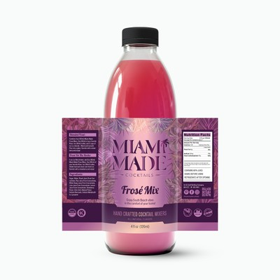 Miami Made Cocktail Mixers