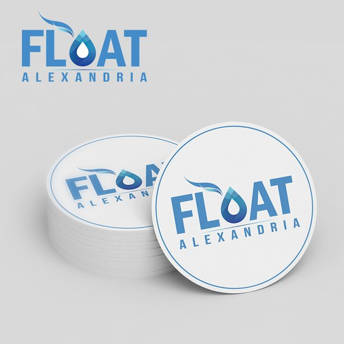 Float logo with the title 'Spa Logo design'