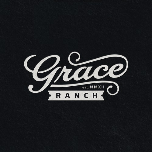Handmade design with the title 'Grace Ranch'