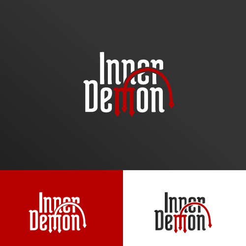 Inside design with the title 'InnerDemon logo'