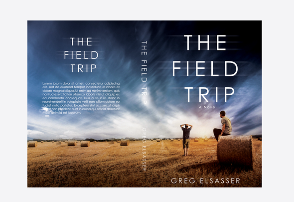 Countryside design with the title 'The Field Trip'