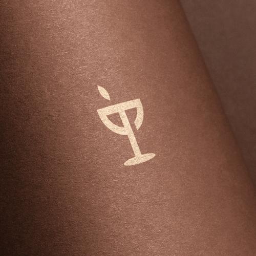 Wine design with the title 'trove'