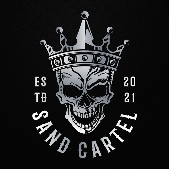 Crown logo with the title 'Sand Cartel'