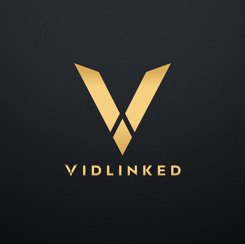 V design with the title 'Strong Wordmark + Icon'