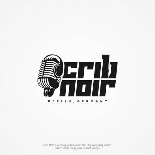 Recording studio logo with the title 'Urban music studio needs a unique logo.'