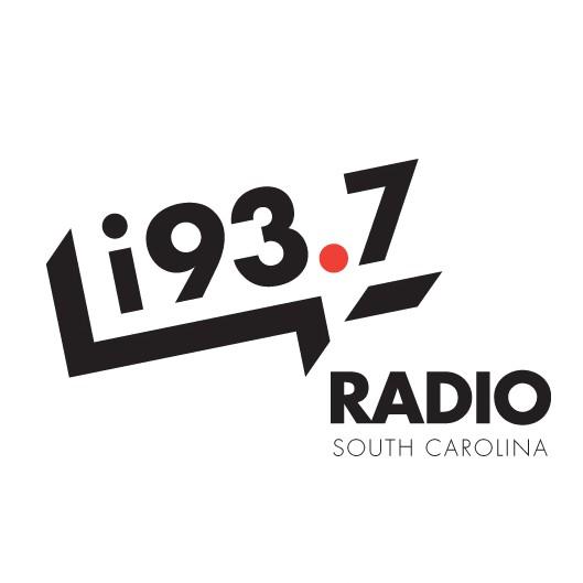 Radio station logo with the title 'Trendy logo for South Carolina radio station'