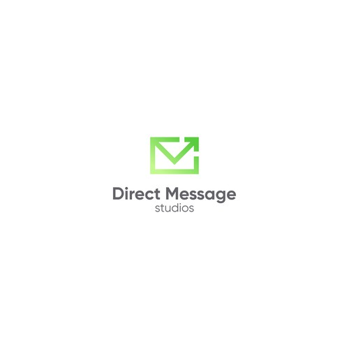 Direct logo with the title 'Direct Message Studios'