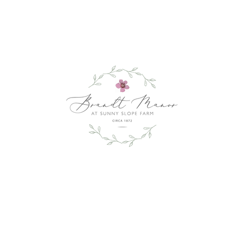 Rural logo with the title 'Wedding Barn Venue Logo'