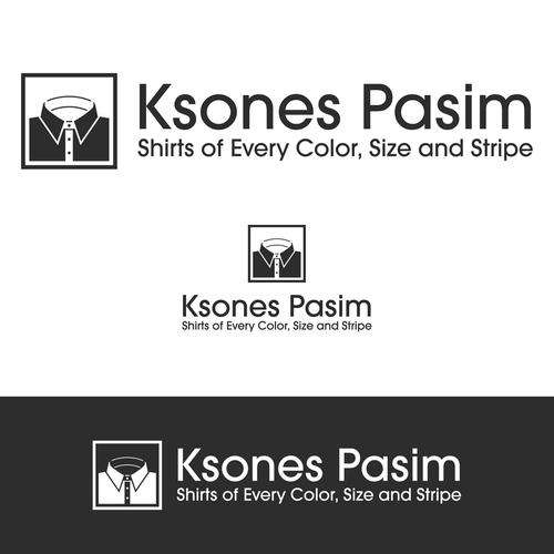 Shirt logo with the title 'Ksones Pasim'