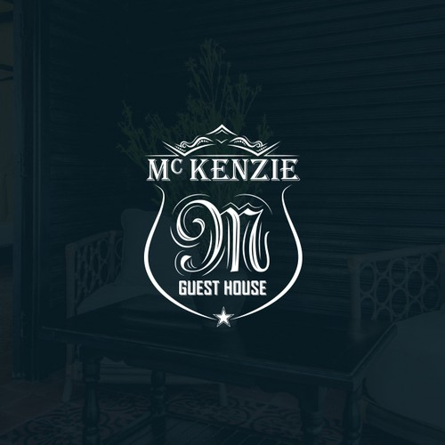 Dark green logo with the title 'Classy logo concept for McKENZIE'