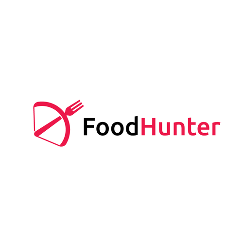 Hunter design with the title 'Food Hunter'