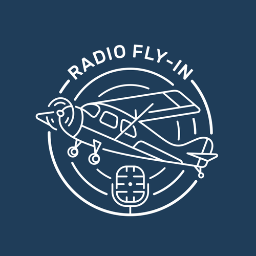 Inspiring design with the title 'Radio Fly-In Logo'