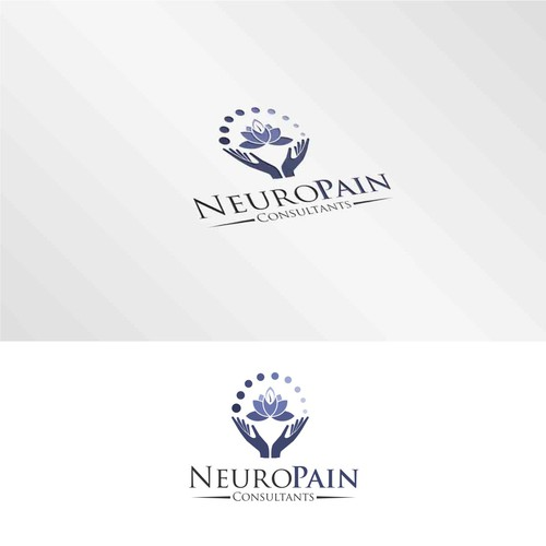 Relief design with the title 'New generation approach to pain relief'