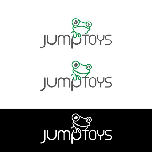 Toy shop logo with the title 'JumpToys logo'