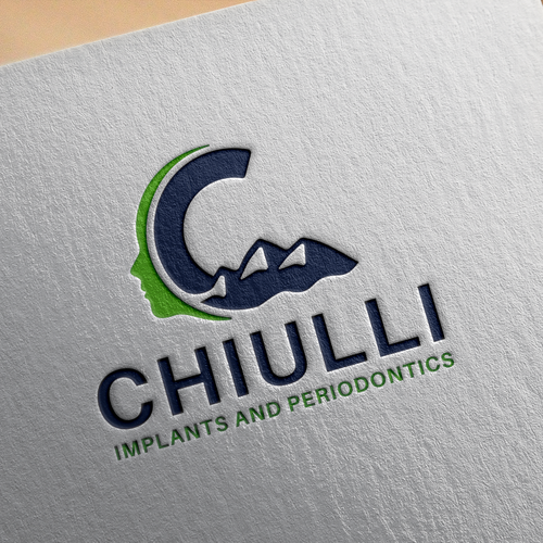 Tracking logo with the title 'Bold logo for Chiulli.'