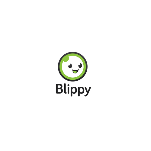 Smile logo with the title 'Blippy'