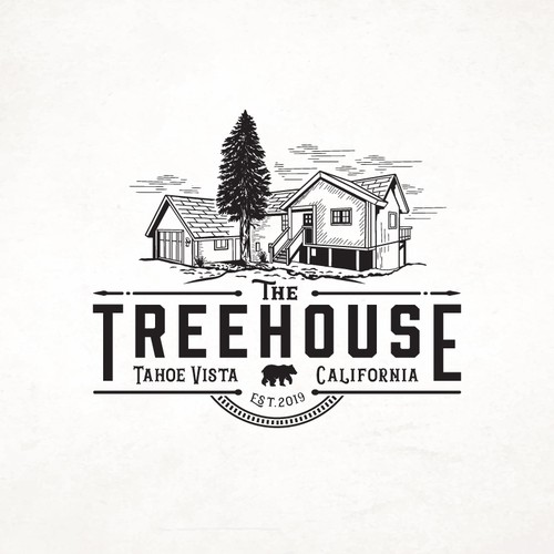 Victorian design with the title 'Treehouse'