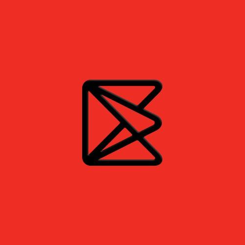 Interactive logo with the title 'EKOS Logo Déign'
