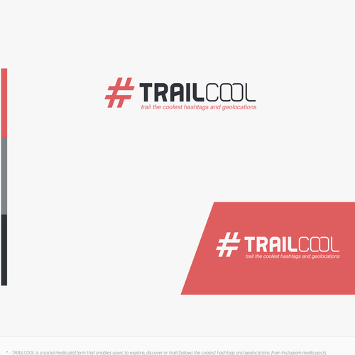 Trail design with the title 'Cool logo for Trail oool'