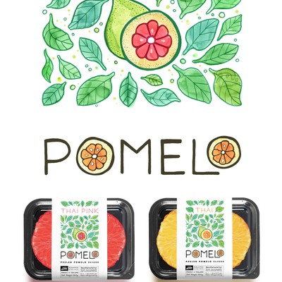 Hip Pomelo Branding project