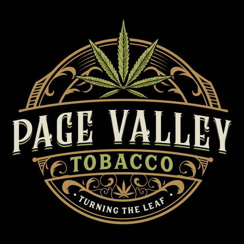 Valley logo with the title 'Page Valley Tobacco'