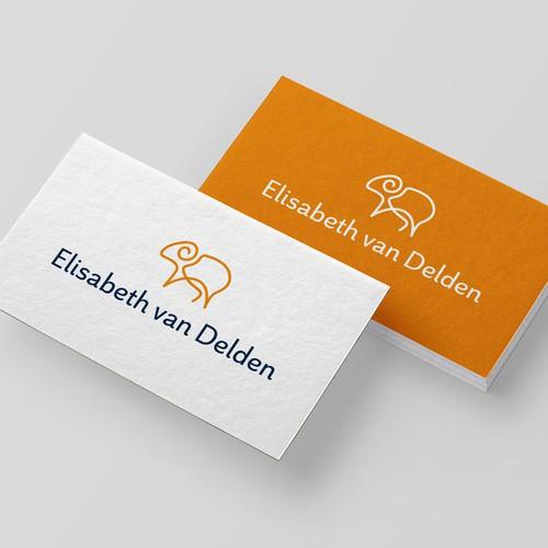 Wool design with the title 'Elisabeth van Delden'