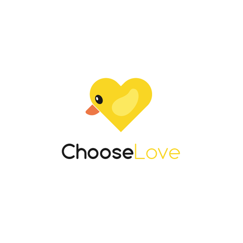 Duck logo with the title 'Choose Love'
