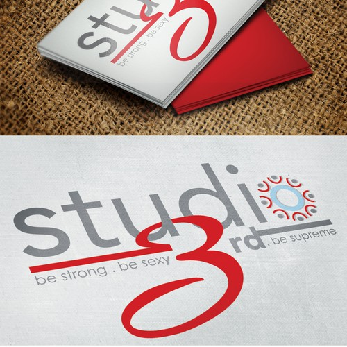 Zumba logo with the title 'Fitness Studio Logo '