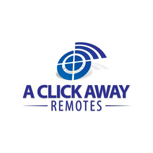 Remote logo with the title 'Logo for remote company'