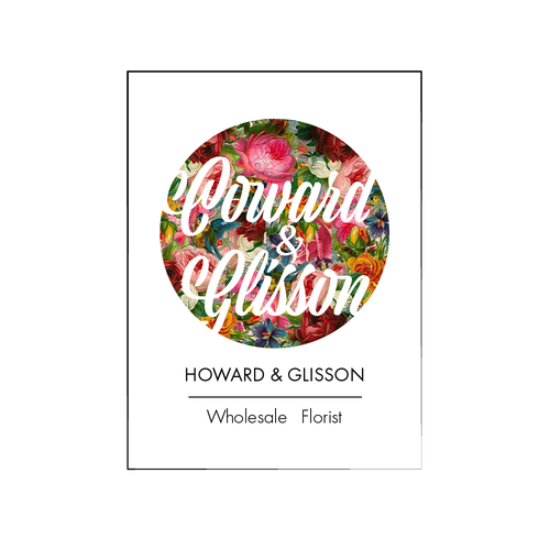 Wholesale logo with the title 'Logo for Wholesale Florist'
