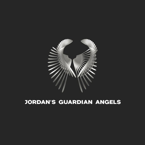 Edgy design with the title 'Ultimate defence: mark for Jordan's Guardian Angels'