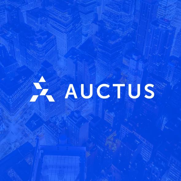 Progressive logo with the title 'auctus'