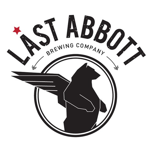 LA logo with the title ' Last Abbott Brewing Company'