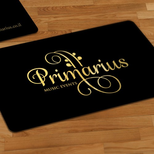 Gold and black design with the title 'Primarius'